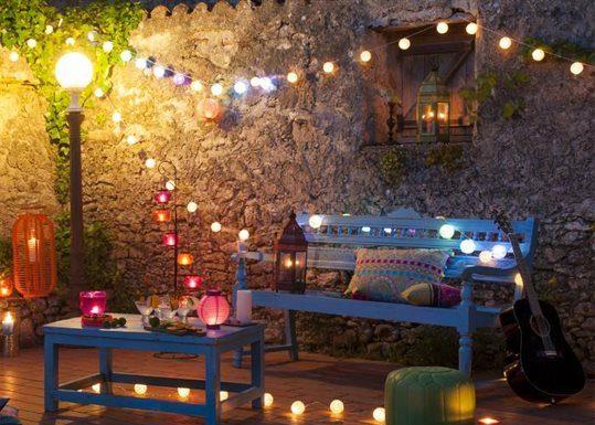 decorar la terrassa